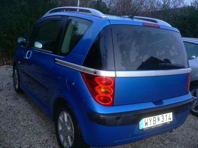 begagnad Peugeot 1007 1,4 -05