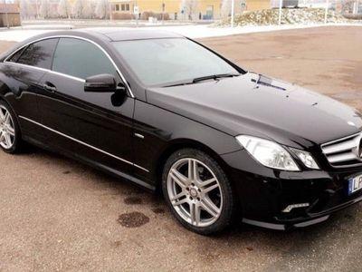 begagnad Mercedes E220 Coupè AMG/ AUT /PANORAMA -11