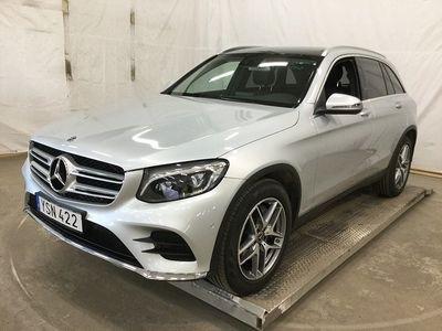 gebraucht Mercedes GLC220 d 4MATIC AMG SKY Euro 6 -19