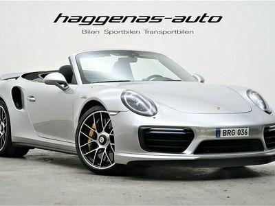 begagnad Porsche 911 Turbo S Cabriolet 991 580hk / Burmester