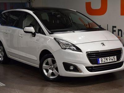 begagnad Peugeot 5008 Active+ 1,6 BlueHDi 120hk 7-Sits - PANORAMAGLASTAK