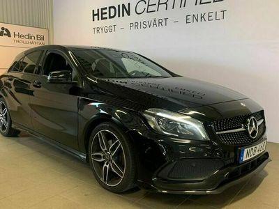 begagnad Mercedes A180 - BenzAMG / S&V - Hjul / Nightpackage