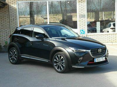 begagnad Mazda CX-3 Optimum 2.0 SKYACTIV-G Automat (121hk) V-hjul