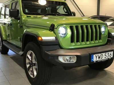 begagnad Jeep Wrangler Unlimited 2.0T 4WD 271HK Sahara Soft-Top