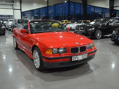 begagnad BMW 323 Cabriolet i Convertible 170hk Manuell Svensksåld