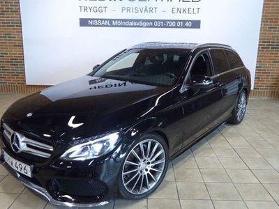 begagnad Mercedes C200 Kombi (184 hk) AMG Line