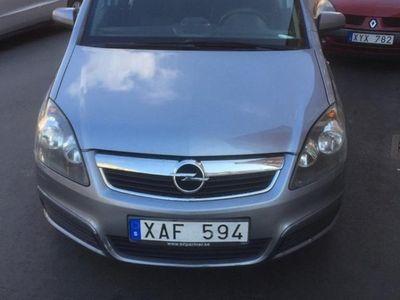 begagnad Opel Zafira 7 sits