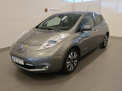 begagnad Nissan Leaf 30 kWh Tekna Läder BOSE