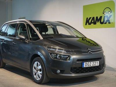 begagnad Citroën Grand C4 Picasso 1.6 HDi 7-sits Navi (114hk)