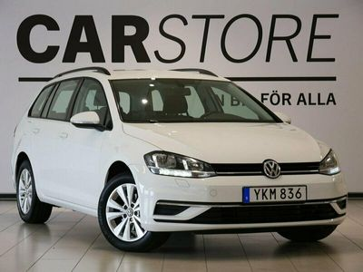 begagnad VW Golf Sportscombi 1,6 TDI DSG Värmare Drag Carplay