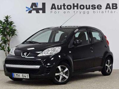 begagnad Peugeot 107 5-dörrar 1.0 2011, Halvkombi 34 000 kr