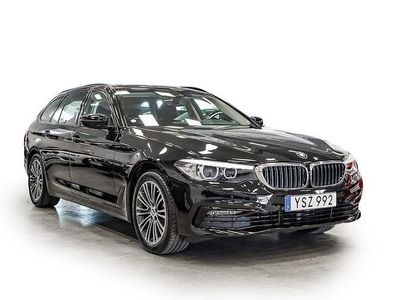 begagnad BMW 520 d Touring Connected Edition Dragkrok