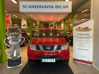 begagnad Nissan Navara Dubbelhytt 2.5 dCi 4x4 Automat 174hk DRAG