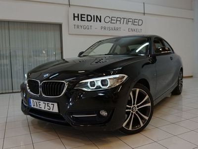 begagnad BMW 220 i Coupé Steptronic