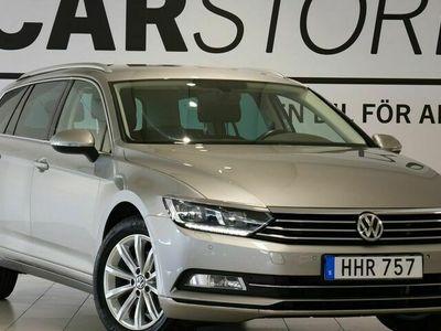 begagnad VW Passat Sportscombi 2.0 TDI Executive Drag 190hk
