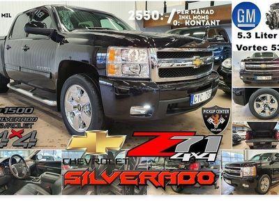 begagnad Chevrolet Silverado LTZ Z71 (2550:-/mån ink moms 0:- kontant*) CREWCAB