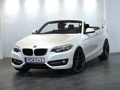 begagnad BMW 220 d Convertible / Sport Line / 190hk