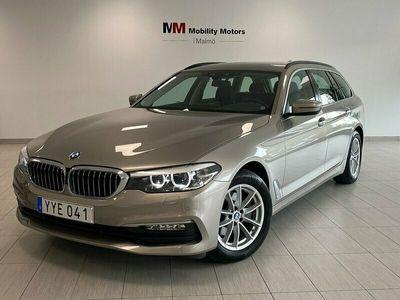 begagnad BMW 520 d Touring Steptronic 190hk 12mån garanti