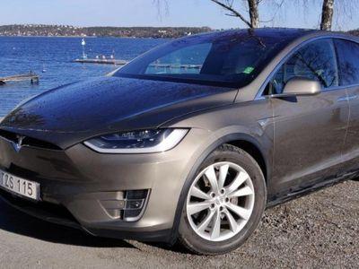 begagnad Tesla Model X 90D AWD / 7-sits / Fri laddning -16