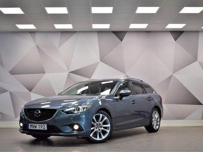 begagnad Mazda 6 Wagon 2.2/Optinum/Automat 175hk
