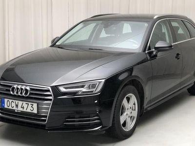 begagnad Audi A4 2.0 TDI Avant quattro 2017, Personbil 190 000 kr
