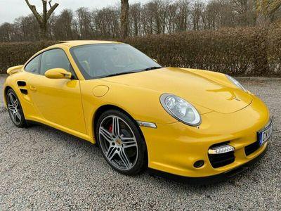 begagnad Porsche 911 Turbo 997 TipTronic S 480hk Toppskick Taklucka