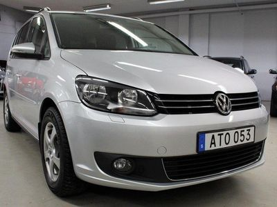 begagnad VW Touran 1.4 TSI DSG AUTOMAT 150hk -14