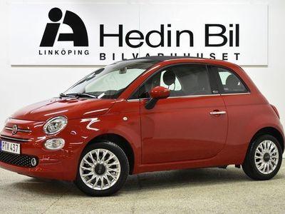 begagnad Fiat 500C Lounge 1,2 69hk