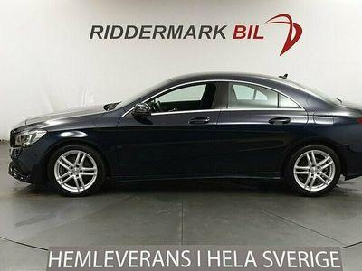 begagnad Mercedes CLA220 d AMG H/K Nyservad B-kamera 177hk