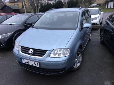 begagnad VW Touran 1,4 Tsi 7-Sitts 2006, SUV 39 900 kr