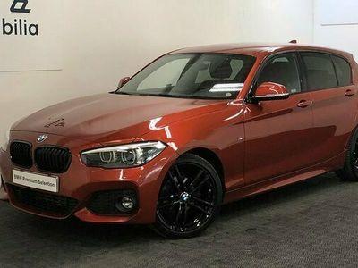 begagnad BMW 118 i M-Sport | PDC bak | HiFi | 18 tum | Farthållare