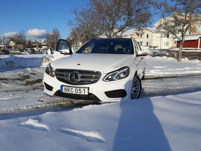 begagnad Mercedes E220 AMG