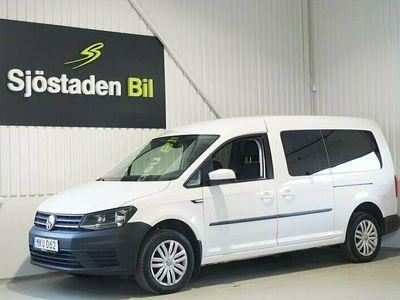 begagnad VW Caddy Maxi Life 1.4 TSI 7-sits Låg skatt EU6 125hk
