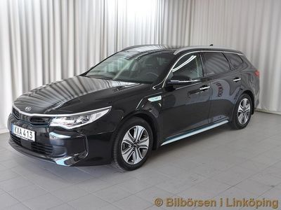 begagnad Kia Optima Hybrid Sportswagon Plug-in Advance Plus