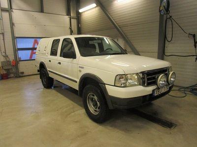 begagnad Ford Ranger 2.5 TDI 4WD Leasingsbar Låg mil 2006, Transportbil 74 900 kr