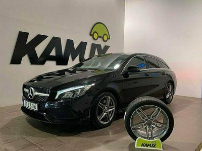 begagnad Mercedes CLA220 Shooting Brake d 4M 220d | 4Matic | Amg | Pano | Navi 177hk