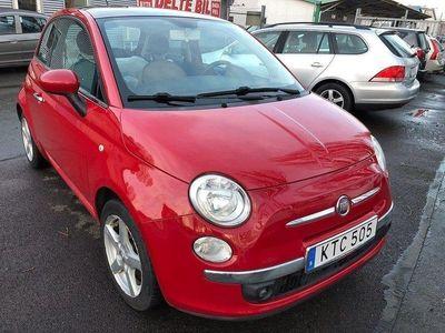 begagnad Fiat 500 1.2 Lounge 69hk 0% Ränta