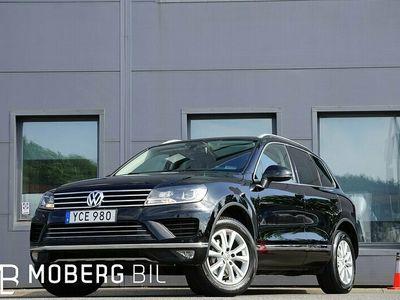 begagnad VW Touareg 3.0 TDI V6 4M 204hk Skinn Värmare Drag