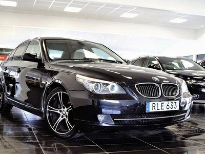 used BMW 525 d Sedan 197hk Skinn / Ny besiktad