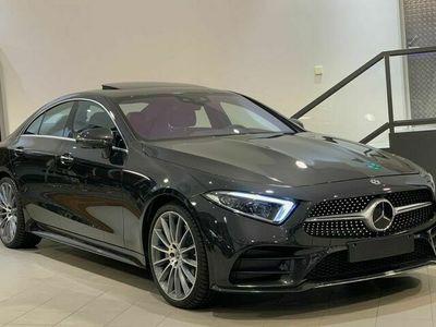 begagnad Mercedes CLS400 - BenzD 4MATIC COUPÉ PREMIUM PLUS / VÄRMARE / DRAGKROK