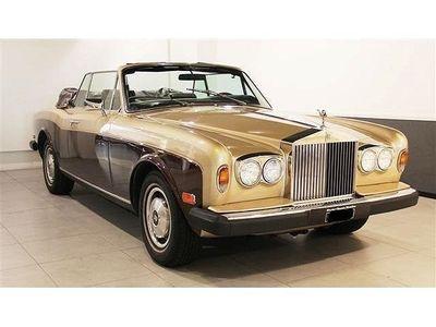 brugt Rolls Royce Corniche II Cab 1981
