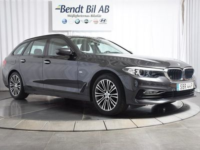 brugt BMW 520 i Touring Connected -18