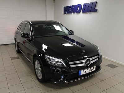 begagnad Mercedes C220 d 4-Matic Avantgarde Drag -19