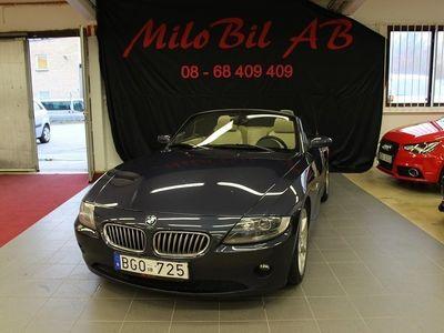 begagnad BMW Z4 3.0i ROADSTER CAB MANUELL LÅGMIL -05