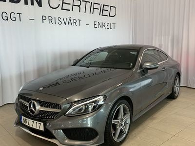 begagnad Mercedes C220 - BenzD AMG COUPE