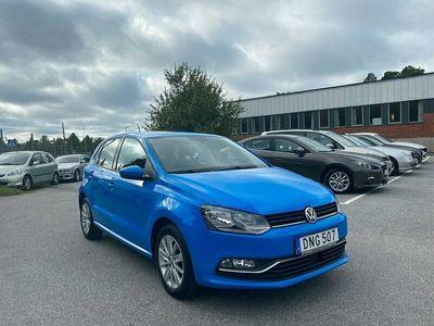 begagnad VW Polo 1.2 TSI 90hk 7000 mil Nyservad Euro 6