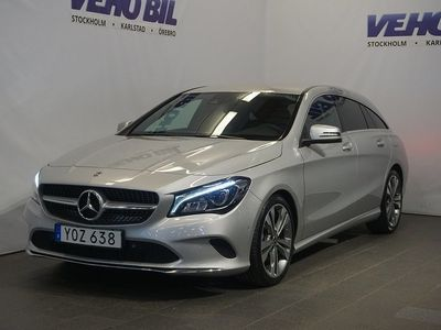 begagnad Mercedes CLA220 Shooting Brake D 7G-DCT Euro 6 177hk
