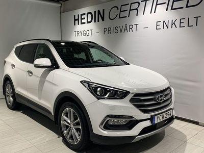 begagnad Hyundai Santa Fe Facelift 2.2 CRDi 4WD //Panorama//Premium