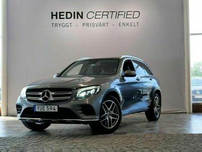 begagnad Mercedes GLC220 - Benzd 4Matic / AMG / PREMIUMPAKET / VÄRMARE / DRAG / PANORAMA