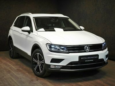 begagnad VW Tiguan 2.0 TDI 4M 190hk | DRAG | VÄRM | KAMERA |